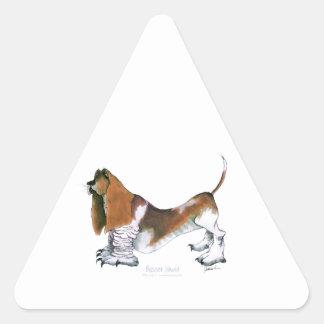 el perro de afloramiento, fernandes tony pegatina triangular