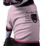 El perro de Buggs t-camisa-elige estilo, color, y  Camisa De Mascota