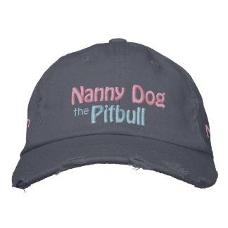 El perro de la niñera, pitbull Terrier americano, Gorros Bordados