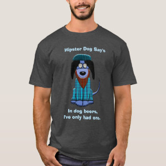 El perro del inconformista dice camiseta