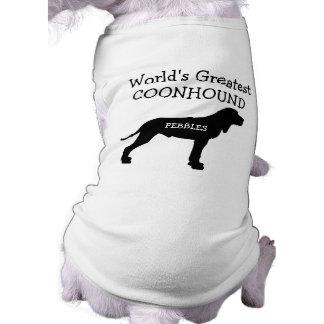 El perro más grande del Coonhound de los mundos