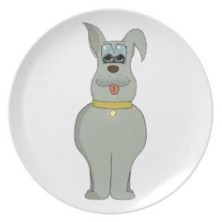 El perro plato