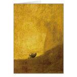 El perro, por Francisco de Goya Tarjeta De Felicitación
