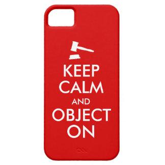 El personalizable guarda el objeto tranquilo del iPhone 5 cárcasa