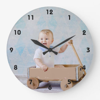 Relojes de pared con fotos en Zazzle