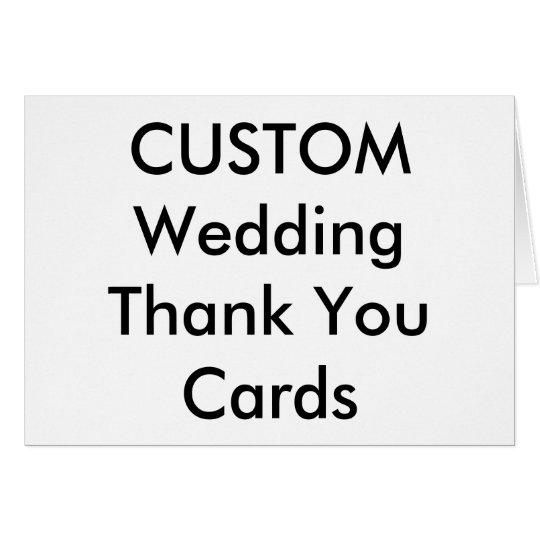 """El personalizado del boda le agradece carda 5,6"""" x"""
