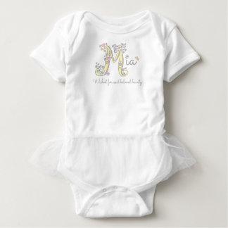 El personalizado del nombre y del significado de body para bebé