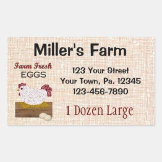 El personalizado Eggs al pegatina