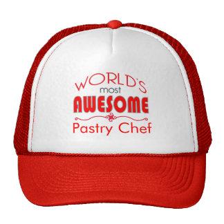 El personalizado más impresionante del cocinero de gorra