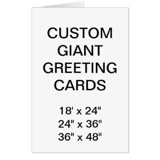 "El personalizado personalizó 24"" x 36"" tarjeta de"