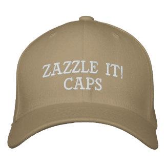 El personalizado personalizó el espacio en blanco gorra bordada