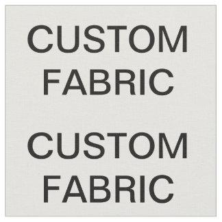 El personalizado personalizó la tela de algodón