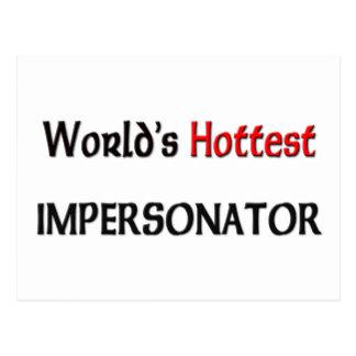 El personificador más caliente de los mundos tarjetas postales