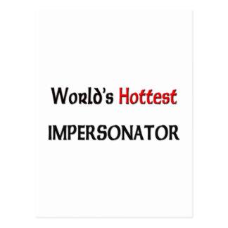 El personificador más caliente de los mundos postal