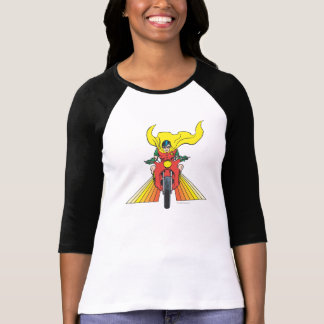 El petirrojo monta 2 2 camiseta