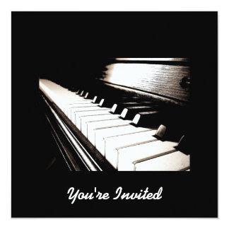 El piano cierra invitaciones comunicados personales