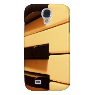 El piano cierra la caja del primer iPhone3G/3GS Funda Para Galaxy S4