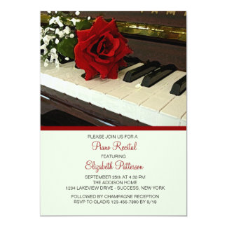 El piano cierra la invitación del decreto