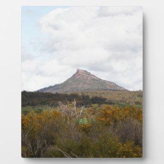 El pico del diablo, cerca de Quorn, interior Placa Expositora