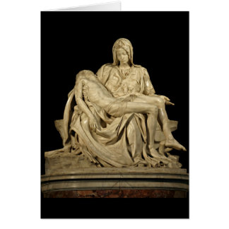 El Pieta de Miguel Ángel Tarjeta