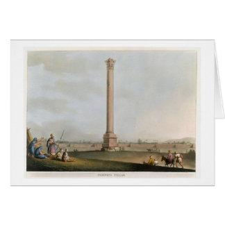 """El pilar de Pompey, platea 14 de """"opiniónes en Egi Felicitación"""