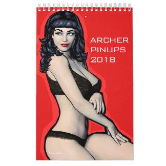 El Pin de Archer sube el calendario 2018