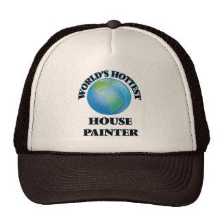 El pintor de la casa más caliente del mundo gorros bordados
