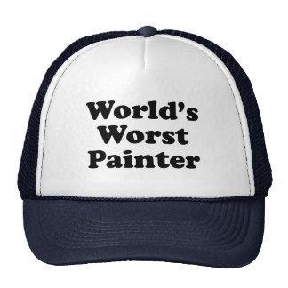El pintor peor del mundo gorras
