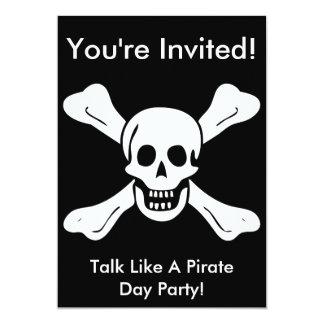 El pirata de Richard Worley invita Comunicado Personal