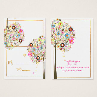 El ✡ PixDezines florece el árbol de las tarjetas