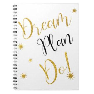 """El """"plan ideal hace"""" cuaderno"""