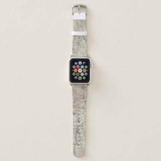 El plan maestro Apple mira la banda de cuero