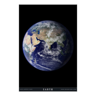 El planeta azul posters