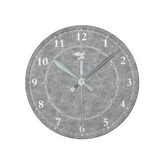 El platino real adornó venta moderna del reloj de