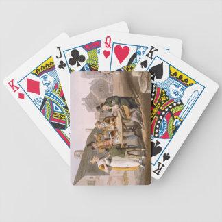 """El pleno verano Eve, del """"traje de Yorkshire"""" grab Baraja Cartas De Poker"""