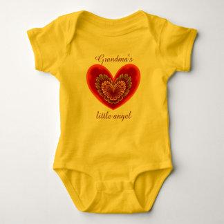 El poco ángel de la abuela body para bebé