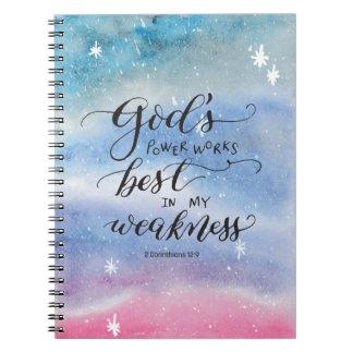 El poder de dios cuaderno