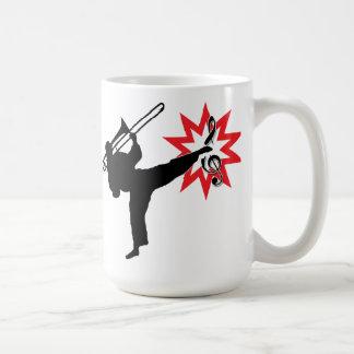 El poder de la música taza de café