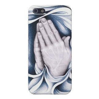El poder del caso de IPhone del rezo iPhone 5 Cárcasas