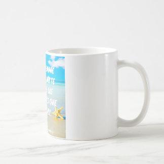 El poder del hoy taza de café