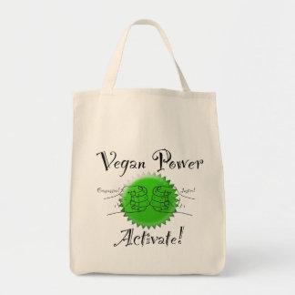 El poder del vegano activa el bolso de