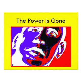 El poder se va los regalos de Zazzle del MUSEO Anuncio