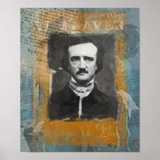 El Poe remezcló la impresión de la cartera Posters