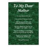 El poema de la madre felicitación