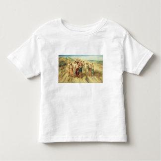 El poeta Anacreon (570-485 A.C.) con sus musas, Camisetas