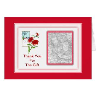 El Poinsettia le agradece por tarjeta de la foto
