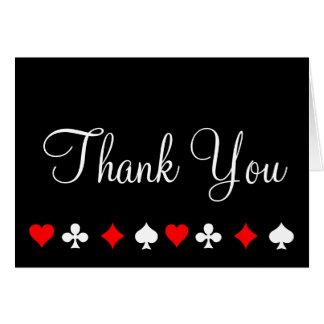 El póker del casino de Las Vegas le agradece Tarjeta Pequeña