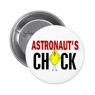 El polluelo del astronauta pins