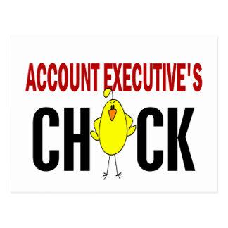 El polluelo del ejecutivo de cuenta postales