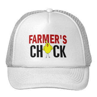 El polluelo del granjero gorra